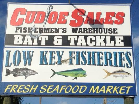 Cudjoe Sales Fishermen's Warehouse 22536 Overseas Hwy