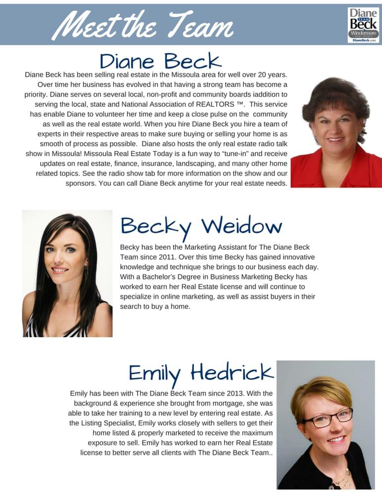 Diane Beck - Windermere Real Estate: 2800 S Reserve St, Missoula, MT