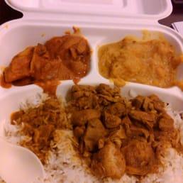 "... States. pick 3 ""feast"": curry chicken, butter chicken, pumpkin ..."