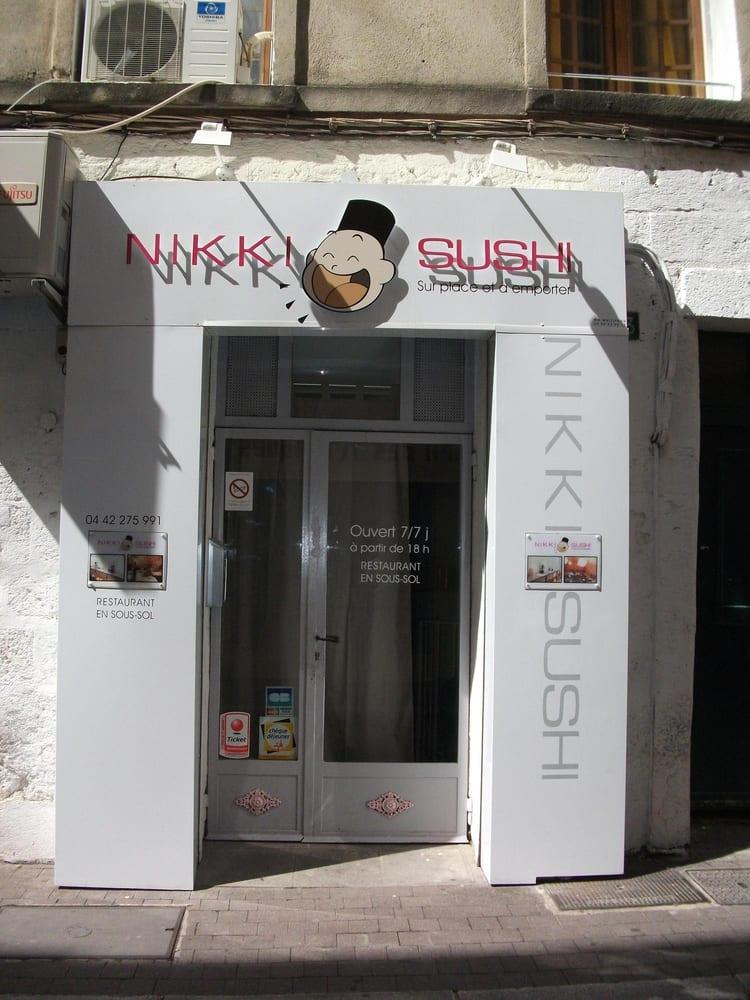 Nikki sushi 39 avis japonais 49 bd carnot aix en for Koi japonais aix en provence