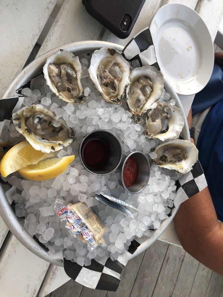 The Oyster Farm Seafood Eatery: 500 Marina Village Cir, Cape Charles, VA
