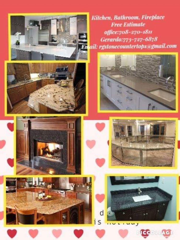 RG Stone Countertops: 6801 W 66th Pl, Bedford Park, IL