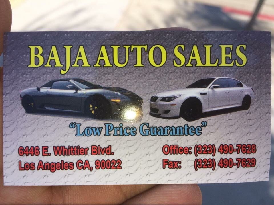 Baja Auto Sales >> Baja Auto Sales East Los Angeles Closed Car Dealers 6446
