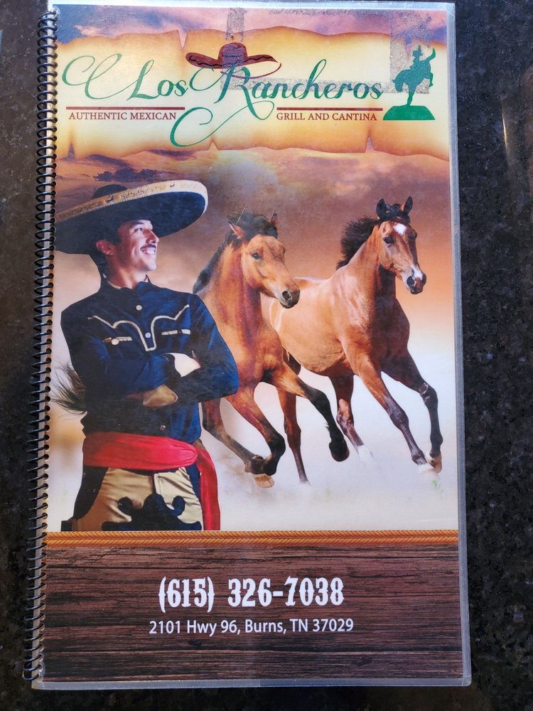 Los Rancheros: 2101 Hwy 96, Burns, TN