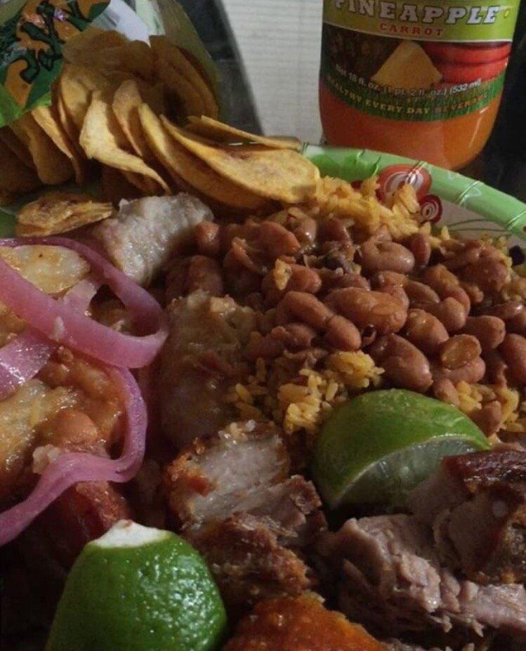 Mi Casa Dominican Restaurant Menu