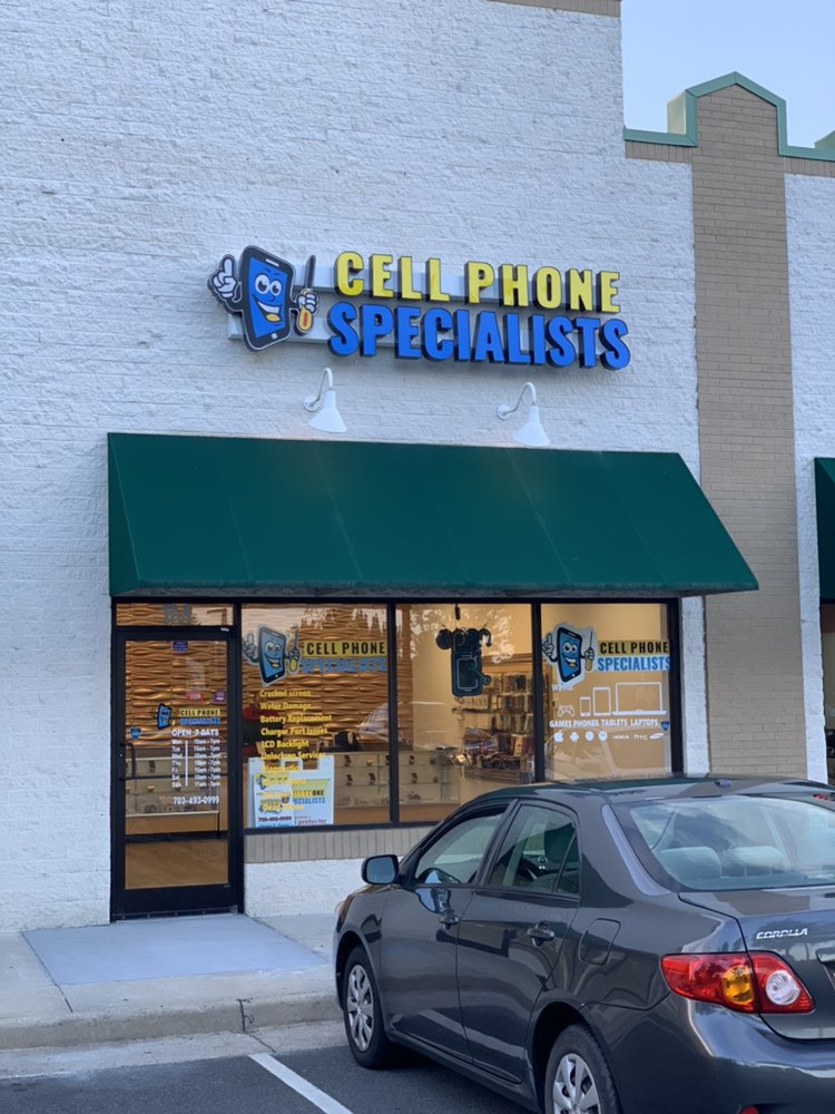 Cell Phone Specialists: 4300 Chantilly Shopping Ctr, Chantilly, VA