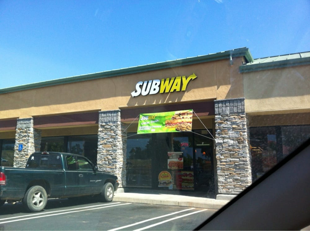 Subway on The Divide: 5020 Ellinghouse Dr, Cool, CA