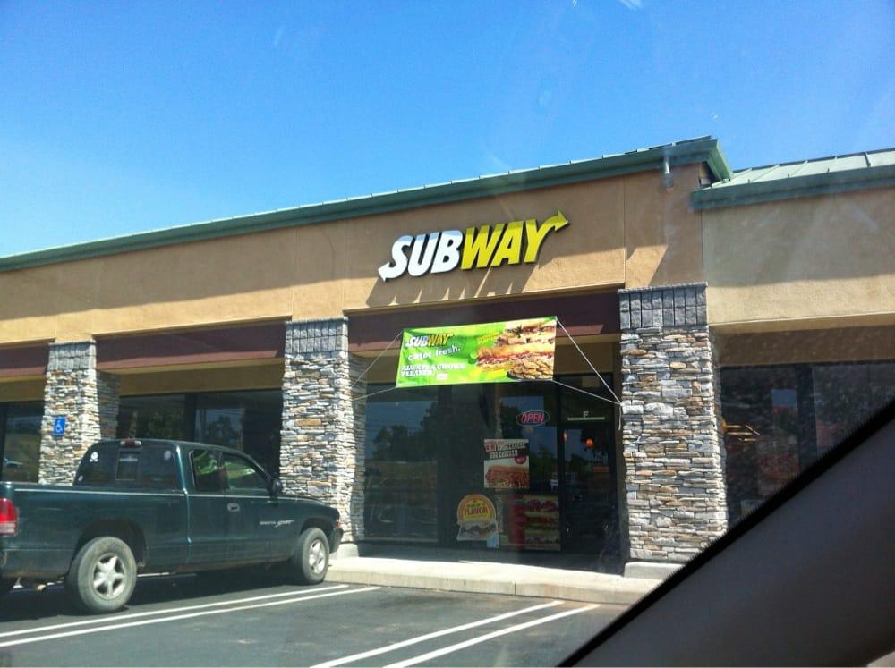 Subway: 5020 Ellinghouse Dr, Cool, CA