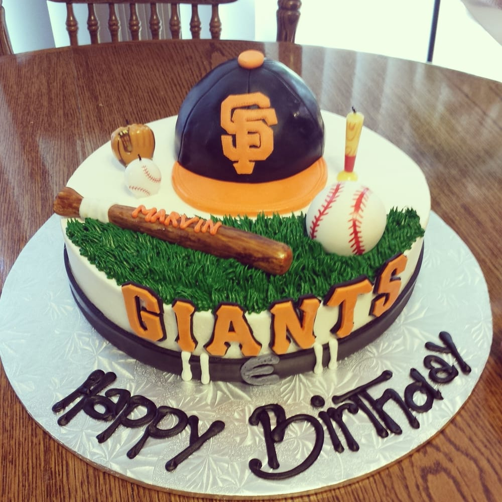 Thank U Guys For Making The Awesome Customize Sf Giants Birthday