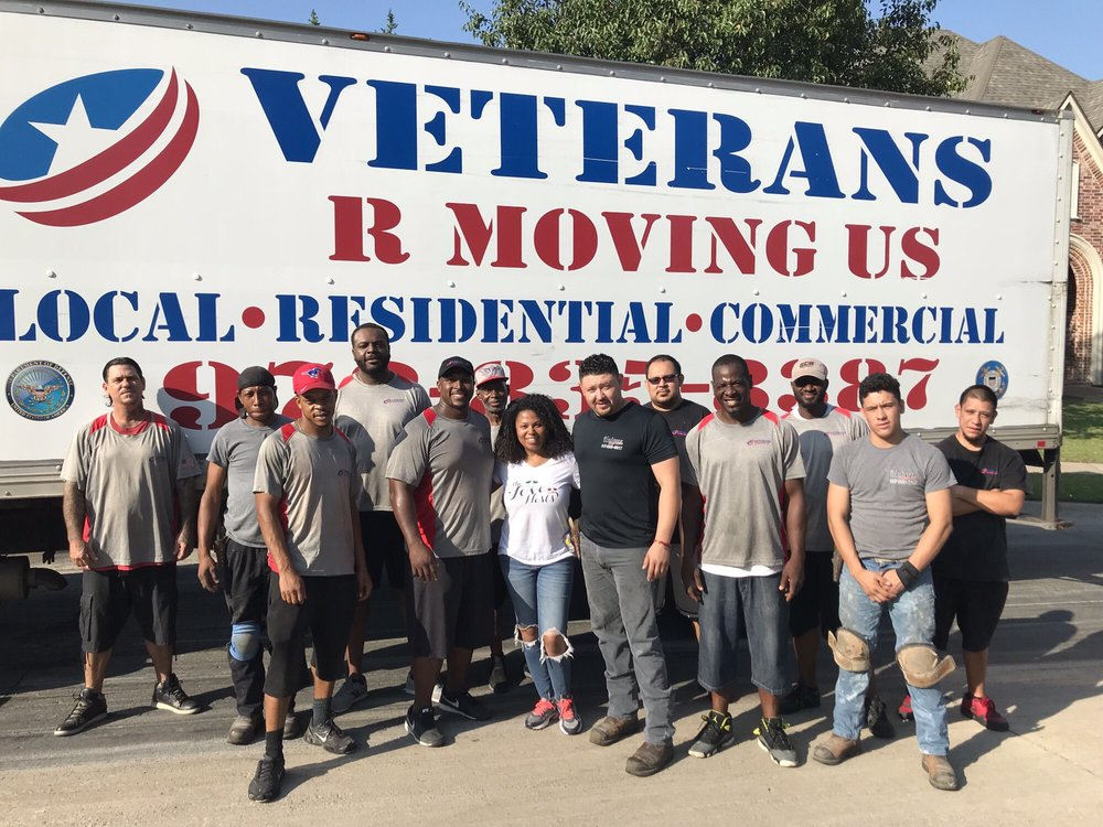 Swell Veterans R Moving Us 24 Photos Movers Frisco Tx Download Free Architecture Designs Grimeyleaguecom