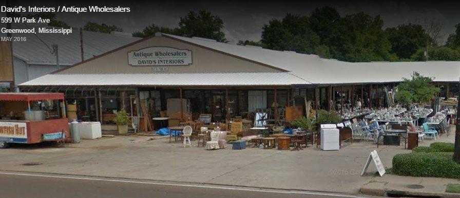 Antique Wholesalers: 527 W Park Ave, Greenwood, MS