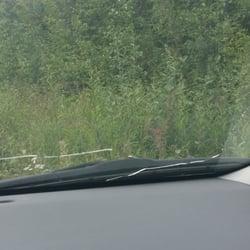 cracked windscreen rental car