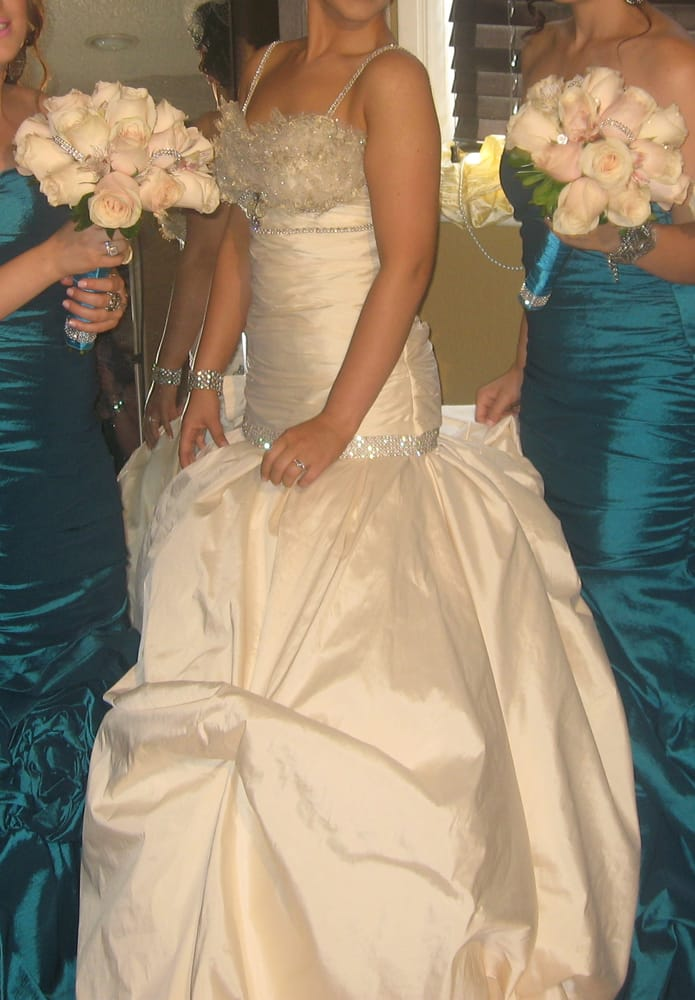 The alteration lady there is the best there she made my for Wedding dress dry cleaning near me