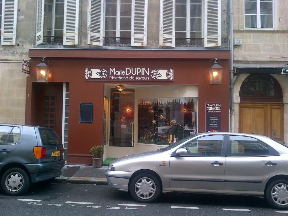 Marie dupin marchand de saveurs sup rettes 7 rue for Hotel rue lafaurie monbadon bordeaux