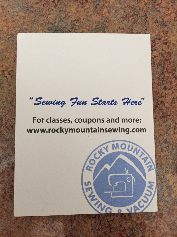 Rocky Mountain Sewing & Vacuum