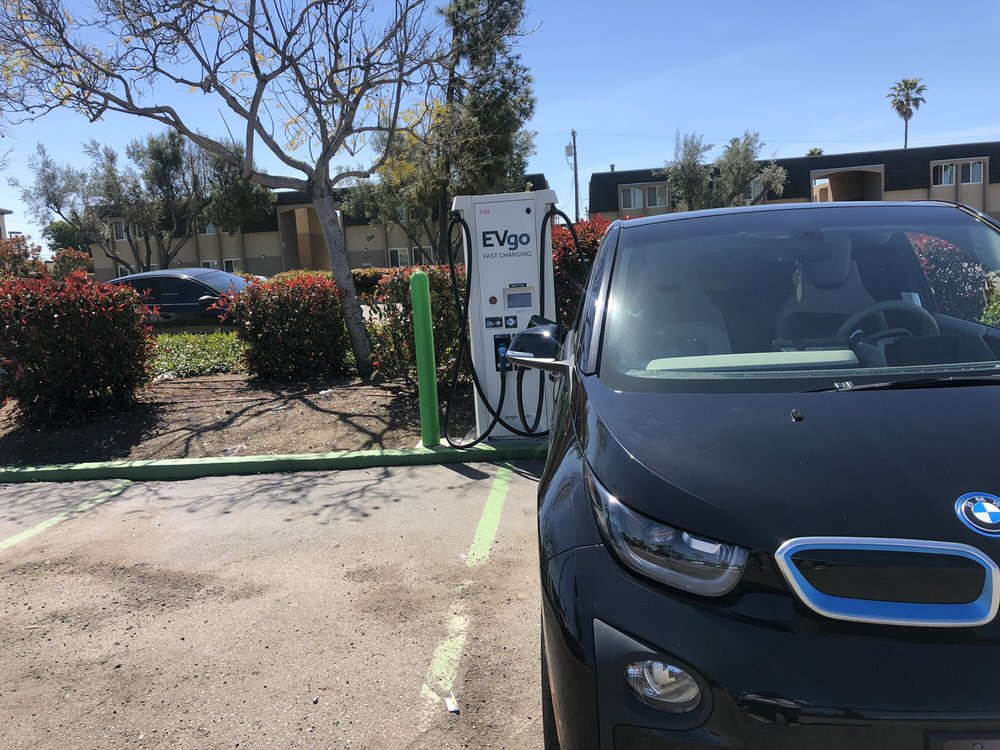 EVgo Charging Station: 4760 Clairemont Mesa Blvd, San Diego, CA