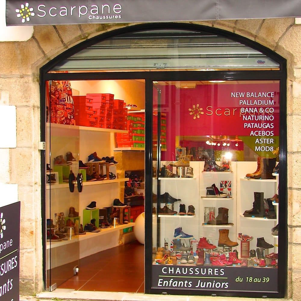 Scarpane magasins de chaussures 3 rue de la halle - Magasin chaussure quimper ...