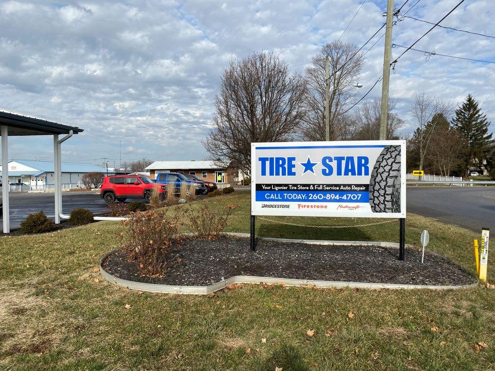 Tire Star - Ligonier: 808 N Cavin St, Ligonier, IN