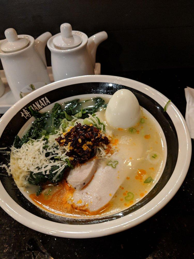Food from Hakata Ramen