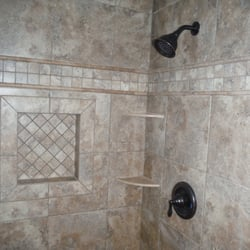 Photo of Rowland Tile - Temecula, CA, United States. Bathroom Remodel 4/