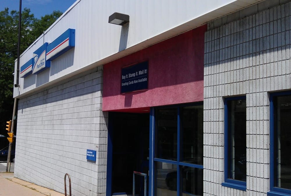 Us post office post offices 1123 1199 n van buren st - United states post office phone number ...