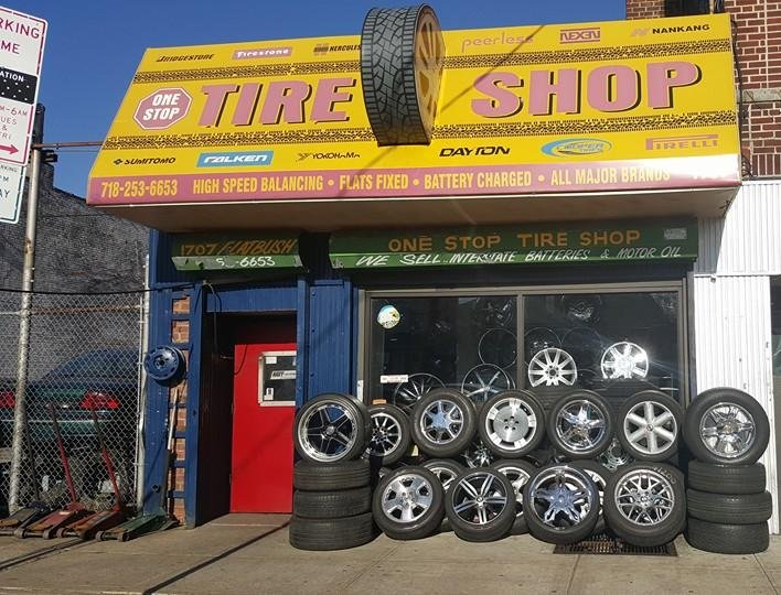 Tire Shops Near Me Open On Sunday >> Onestop Tire Shop Tires 1707 Flatbush Ave Marine Park