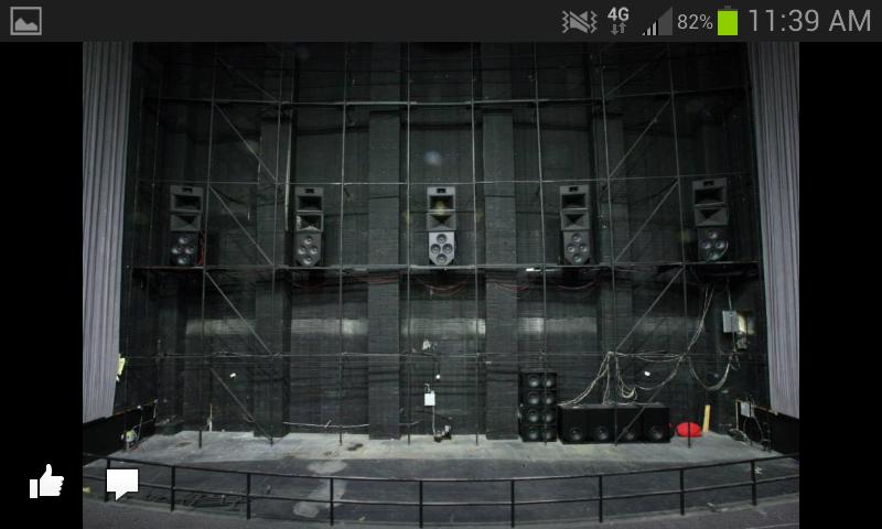 Dolby Atmos Speakers Installed Behind Screen Yelp