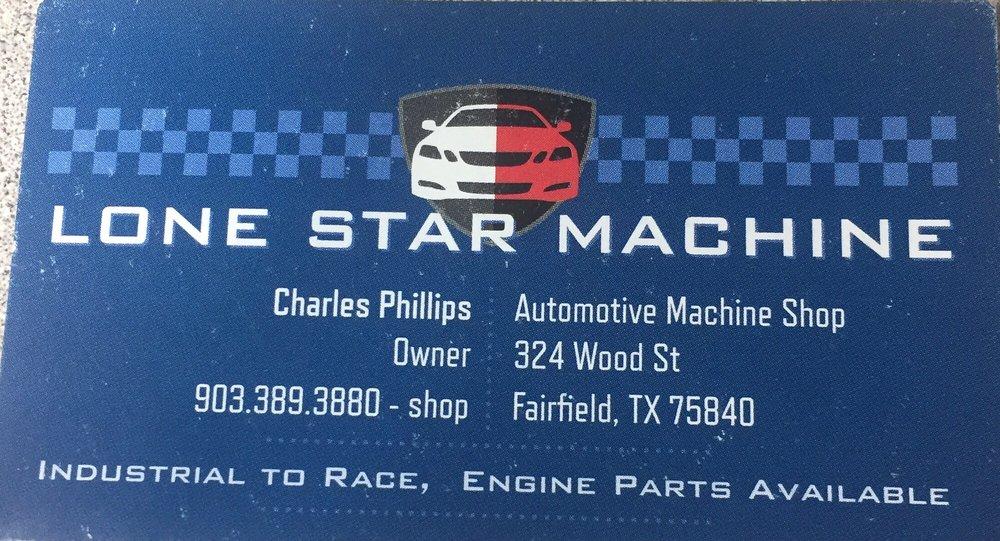 Lone Star Automotive Machine: 324 Wood St, Fairfield, TX
