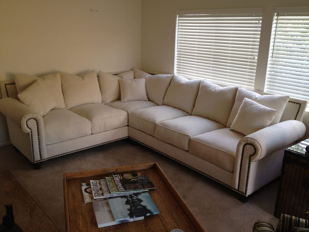 Mindy Style Sofa Sofa Sectional With Nailheads Yelp