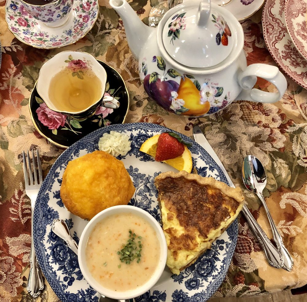 Food from Governor Croswell Tea Room