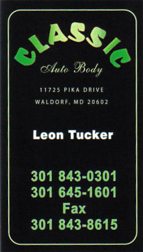 Classic Auto Body Repair - 11725 Pika Dr, Waldorf, MD - 2019