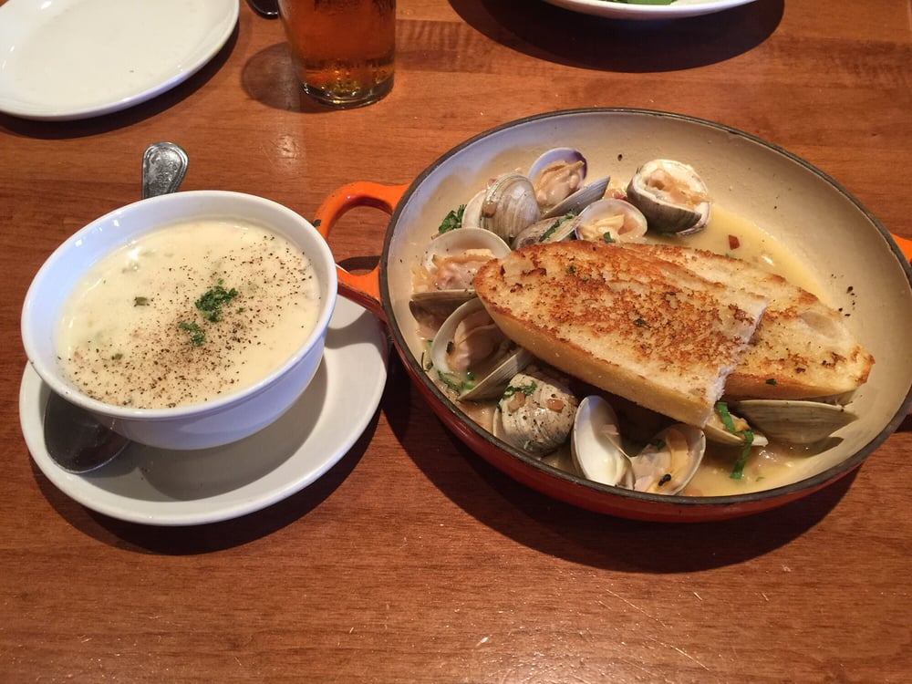 Clam chowder and steamed clams yelp for King fish house huntington beach ca