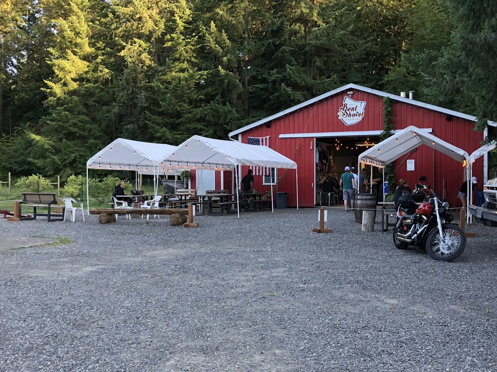 Bent Shovel Brewing - Beer Garden and Patio: 20189 S Springwater Rd, Estacada, OR