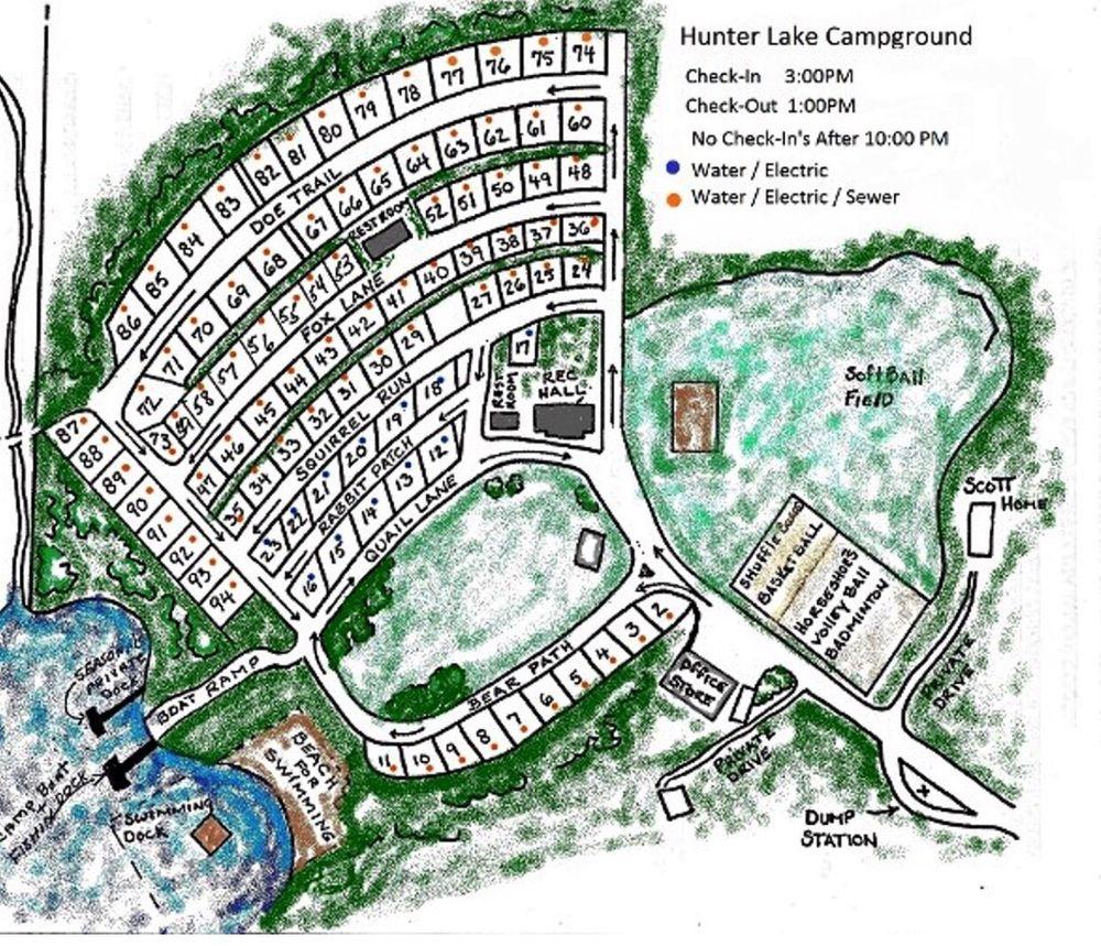 Hunter Lake Campgrounds