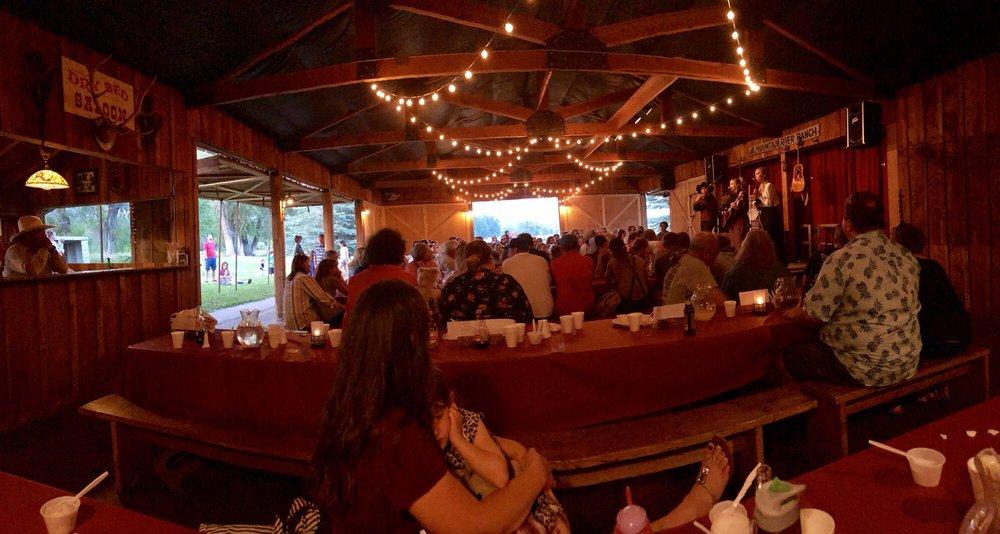 Mountain River Ranch Dinner Theatre: 98 N 5050th E, Ririe, ID