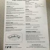Photo Of Umbrella Cafe Pittsburgh Pa United States Menu
