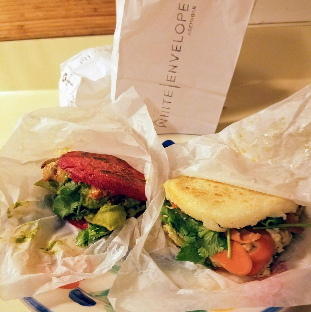 White Envelope Arepa Bar: 301 W 29th St, Baltimore, MD