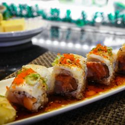 Photo Of Fusion Anese Steakhouse Morgantown Wv United States Monster Roll