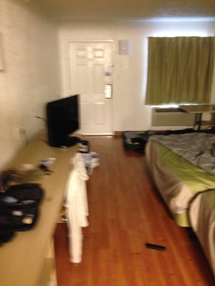 Updated Rooms Not Too Shabby For A Motel 6 Laminate Flooring So