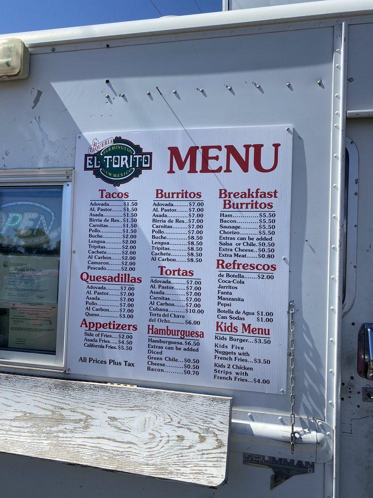 La Taqueria El Torito: 2000 W Main St, Farmington, NM