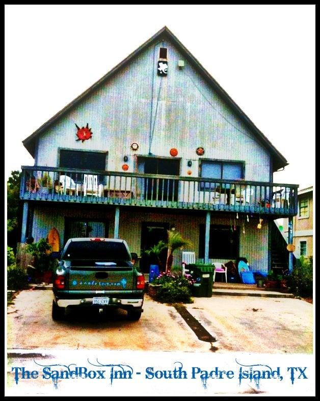 The Sandbox Inn: 117 E Saturn Ln, South Padre Island, TX