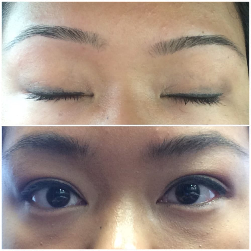 My New Eyebrows In The Top Photo Are Extremely Thin Do Not Match
