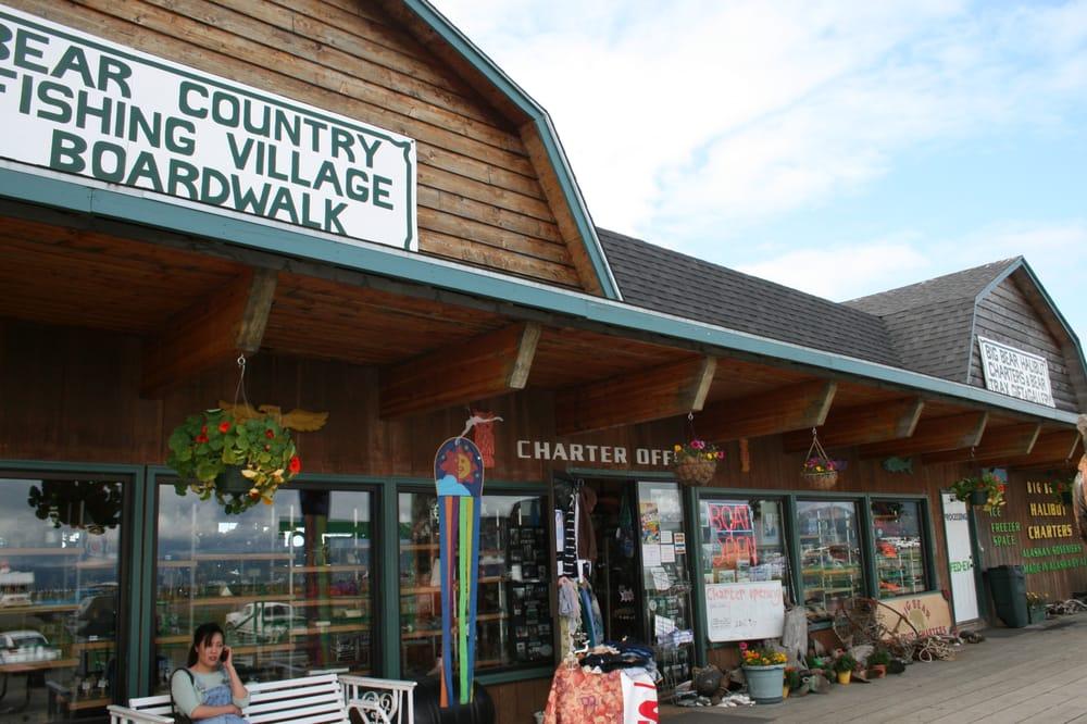 Bear Country Fishing Village Boardwalk: 4025 Homer Spit Rd, Homer, AK