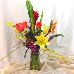 Photo of Pemberton's Flowers - Salem - Salem, OR, United States. Tropical Bliss