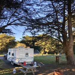 Bodega bay camping with full hookups