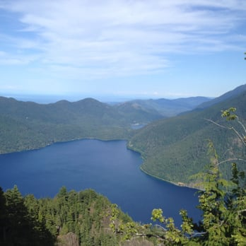 Photo of Lake Crescent - Port Angeles, WA, United States. A view from