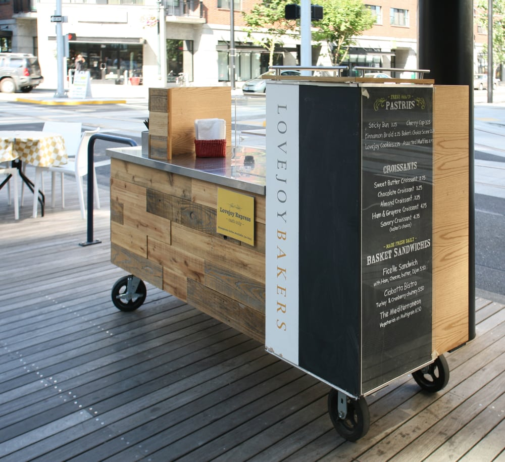 Custom Design And Fabrication Of Mobile Coffee Cart For