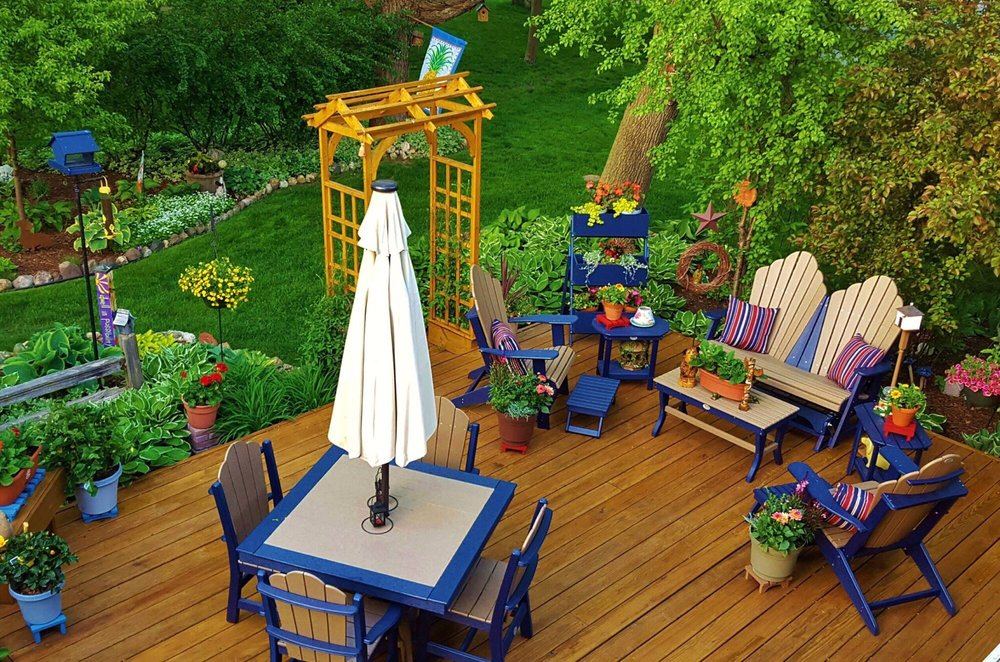 Tables Chairs Gliders Planters Accessories Bars
