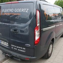 Elektriker Hamburg Winterhude elektro goertz elektriker august krogmann str 194 bramfeld