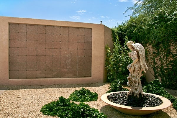 Garden Of Memories Niche And Scattering Garden For Permanent Memorization Of Cremated Remains